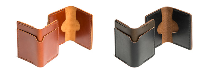 cohort leather wallets